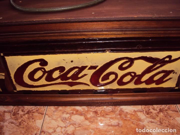 Coleccionismo de Coca-Cola y Pepsi: (ANT-161267)PRECIOSO LETRERO LUMINOSO COCA-COLA FINALES AÑOS 60 ??? - Foto 5 - 69256301