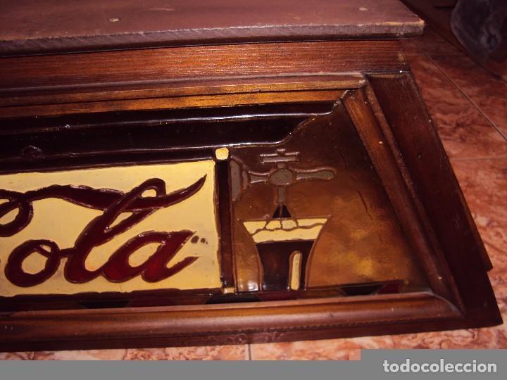 Coleccionismo de Coca-Cola y Pepsi: (ANT-161267)PRECIOSO LETRERO LUMINOSO COCA-COLA FINALES AÑOS 60 ??? - Foto 6 - 69256301