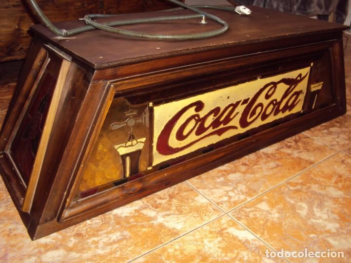 Coleccionismo de Coca-Cola y Pepsi: (ANT-161267)PRECIOSO LETRERO LUMINOSO COCA-COLA FINALES AÑOS 60 ??? - Foto 7 - 69256301