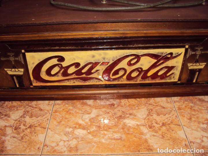 Coleccionismo de Coca-Cola y Pepsi: (ANT-161267)PRECIOSO LETRERO LUMINOSO COCA-COLA FINALES AÑOS 60 ??? - Foto 13 - 69256301