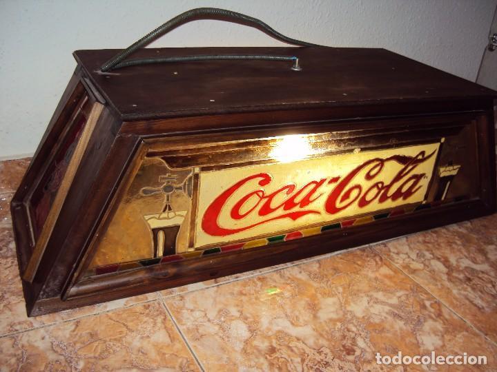 Coleccionismo de Coca-Cola y Pepsi: (ANT-161267)PRECIOSO LETRERO LUMINOSO COCA-COLA FINALES AÑOS 60 ??? - Foto 35 - 69256301