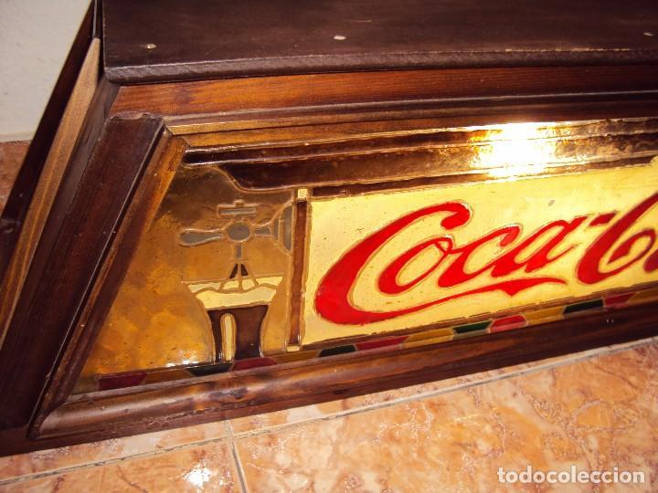Coleccionismo de Coca-Cola y Pepsi: (ANT-161267)PRECIOSO LETRERO LUMINOSO COCA-COLA FINALES AÑOS 60 ??? - Foto 37 - 69256301