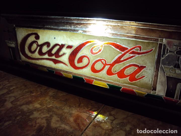 Coleccionismo de Coca-Cola y Pepsi: (ANT-161267)PRECIOSO LETRERO LUMINOSO COCA-COLA FINALES AÑOS 60 ??? - Foto 39 - 69256301