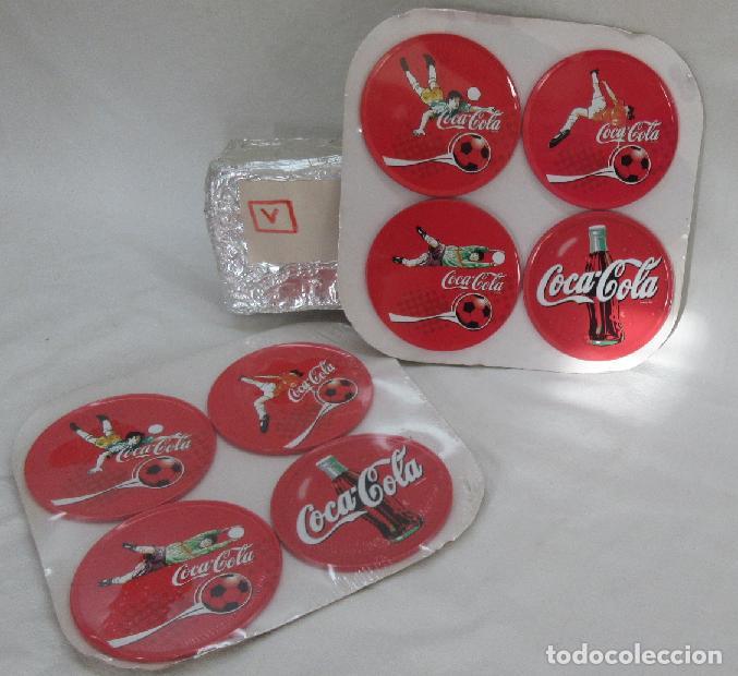 8 POSAVASOS METALICOS COCA COLA (Coleccionismo - Botellas y Bebidas - Coca-Cola y Pepsi)