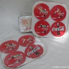 Coleccionismo de Coca-Cola y Pepsi: 8 POSAVASOS METALICOS COCA COLA. Lote 73046839