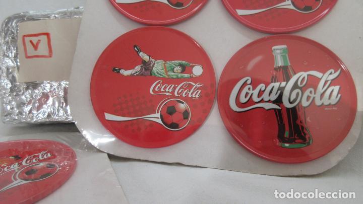 Coleccionismo de Coca-Cola y Pepsi: 8 Posavasos metalicos Coca Cola - Foto 2 - 73046839