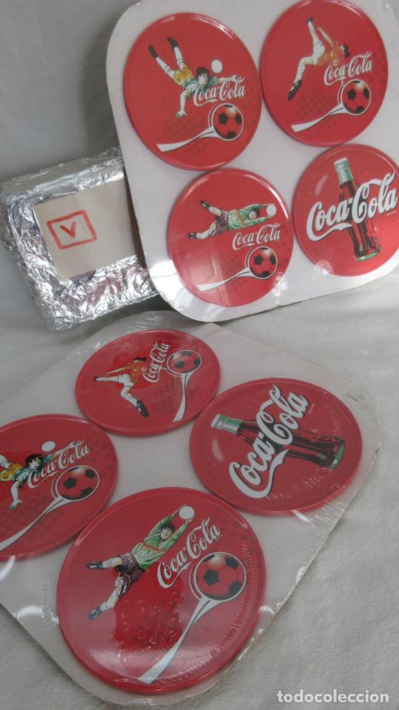 Coleccionismo de Coca-Cola y Pepsi: 8 Posavasos metalicos Coca Cola - Foto 3 - 73046839