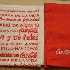 Coleccionismo de Coca-Cola y Pepsi: 12 SERVILLETAS DE COCA COLA. Lote 73051722
