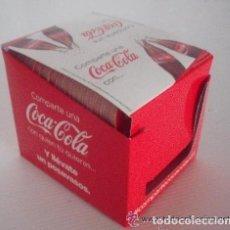 Coleccionismo de Coca-Cola y Pepsi: CAJA 83 POSAVASOS NOMBRES COCACOLA NUEVOS COCA COLA. Lote 73740675