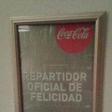 Coleccionismo de Coca-Cola y Pepsi: CHAPA METÁLICA COCA-COLA 125 ANIVERSARIO. EDICIÓN LIMITADA.. Lote 71403655