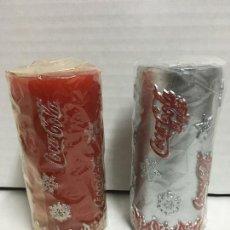 Coleccionismo de Coca-Cola y Pepsi: VELA NAVIDEÑA COCA COLA. Lote 74513283