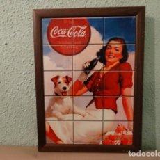 Coleccionismo de Coca-Cola y Pepsi: CARTEL COCA COLA. Lote 74728475