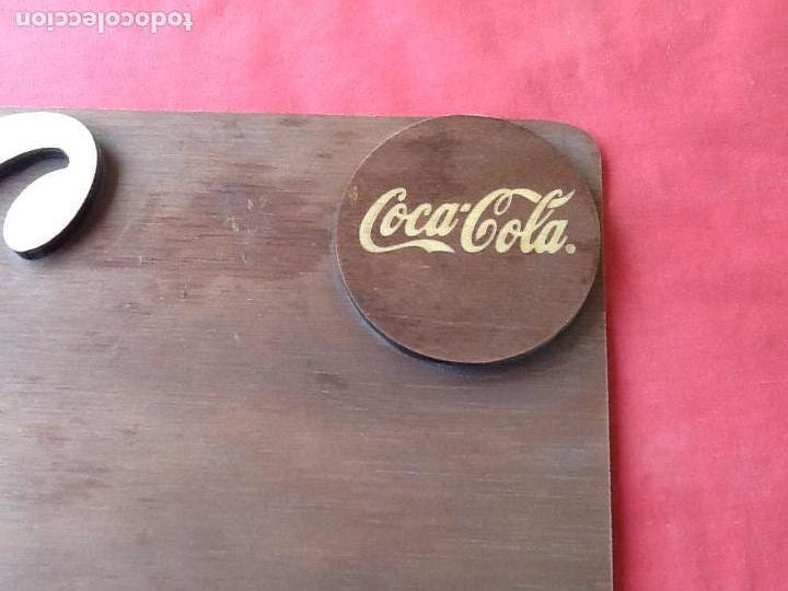 Coleccionismo de Coca-Cola y Pepsi: EXPOSITOR DE MADERA. COCACOLA 125 ANIVERSARIO. . EL ENVIO CERTIFICADO ESTA INCLUIDO. - Foto 4 - 74882723