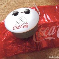 Coleccionismo de Coca-Cola y Pepsi: COCA COLA, RADIO DE PLAYA CON ALMOHADILLA INCHABLE PROMOCION COCACOLA, CAJA DE ORIGEN, AÑO 2003/2005. Lote 134287235