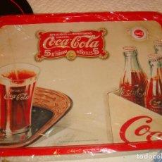 Coleccionismo de Coca-Cola y Pepsi: BONITA BANDEJA DE COCA COLA 48 X 34,5 CM. HOJALATA. Lote 75265343