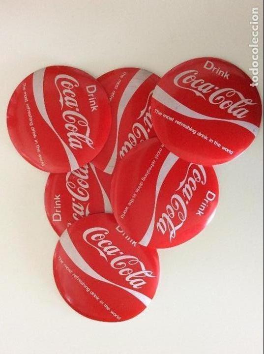 Coleccionismo de Coca-Cola y Pepsi: Juego de posavasos vintage de COCA COLA EN FIBRA Y PLÁSTICO - Foto 2 - 74233995