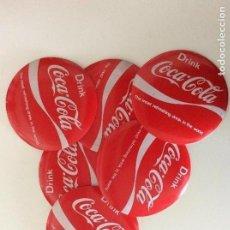 Coleccionismo de Coca-Cola y Pepsi: ENVÍO 6€. JUEGO DE POSAVASOS VINTAGE DE COCA COLA EN FIBRA Y PLÁSTICO. Lote 74233995