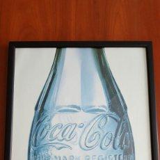 Coleccionismo de Coca-Cola y Pepsi: CUADRO DE COCA COLA ANTIGUO TRADE MARK REGISTERED. Lote 77102073