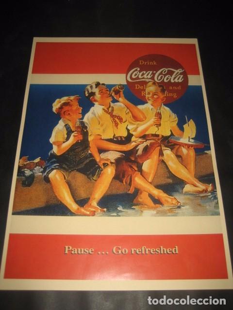 CARTEL PUBLICITARIO COCA-COLA (Coleccionismo - Botellas y Bebidas - Coca-Cola y Pepsi)