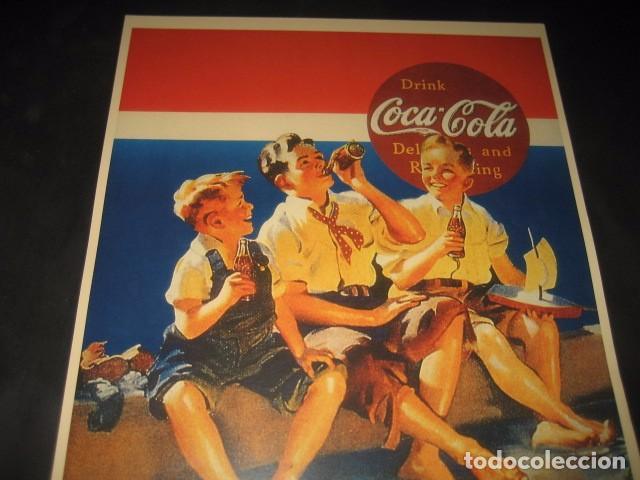 Coleccionismo de Coca-Cola y Pepsi: CARTEL PUBLICITARIO COCA-COLA - Foto 2 - 77839917