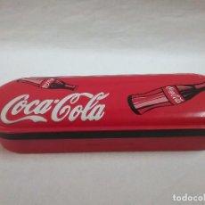 Coleccionismo de Coca-Cola y Pepsi: ESTUCHE PLUMIER METÁLICO DE COCA COLA . Lote 77924373