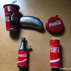 Coleccionismo de Coca-Cola y Pepsi: LOTE MECHEROS COCACOLA COCA COLA. Lote 199166781