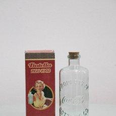 Coleccionismo de Coca-Cola y Pepsi: RÉPLICA BOTELLA 1L CRISTAL. Lote 79104825
