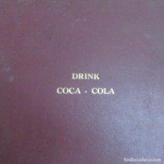 Coleccionismo de Coca-Cola y Pepsi: RARO ALBUM LIBRO COCA COLA, ANTIGUO, CAMIONES. Lote 81841320