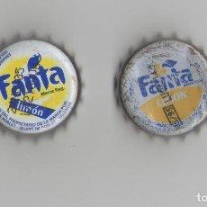 Coleccionismo de Coca-Cola y Pepsi: 2 CHAPAS ANTIGÜAS DE FANTA ESPAÑA. Lote 82086748