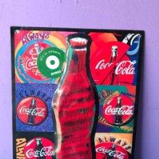 Coleccionismo de Coca-Cola y Pepsi: CHAPA METALICA PUBLICIDAD COCACOLA COCA COLA ORIGINAL 1996 THE REAL THING ALWAYS. Lote 82617236