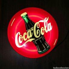 Coleccionismo de Coca-Cola y Pepsi: CARTEL LUMINOSO COCACOLA - FUNCIONANDO - SM07. Lote 114021200