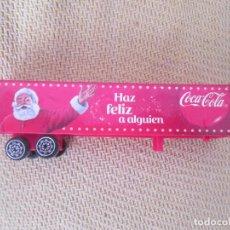 Coleccionismo de Coca-Cola y Pepsi: REMOLQUE DE JUGUETE COCACOLA. Lote 83032964