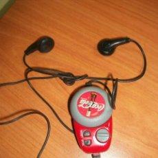 Coleccionismo de Coca-Cola y Pepsi: RADIO PARA EL CINTURÓN. COCA COLA. Lote 83807756