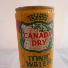 Coleccionismo de Coca-Cola y Pepsi: LATA CANADA DRY, VACIA, TONIC WATER, AÑOS 80 . Lote 84123792