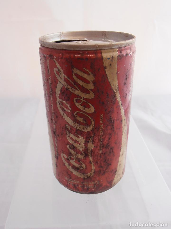 Coleccionismo de Coca-Cola y Pepsi: LATA COKE, VACIA, COCA-COLA, AÑOS 80 - Foto 2 - 84123876