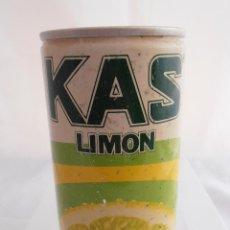Coleccionismo de Coca-Cola y Pepsi: LATA BEBIDA KAS LIMON, DOS TAPAS Y LATERAL SOLDADO AÑOS 70 . Lote 84151556
