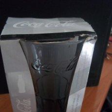 Coleccionismo de Coca-Cola y Pepsi: VASO COCA COLA COLOR GRIS EN CAJA INSPIRADO EN EL LEGENDARIO DE 1904 LUMINARC. Lote 84254624