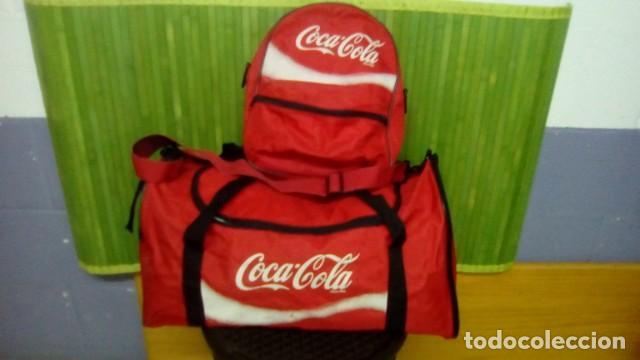 BOLSA DEPORTE CON MOCHILA...DE COCA COLA (Coleccionismo - Botellas y Bebidas - Coca-Cola y Pepsi)
