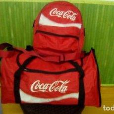 Coleccionismo de Coca-Cola y Pepsi: BOLSA DEPORTE CON MOCHILA...DE COCA COLA. Lote 84555844