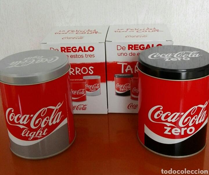 dos botes de coca cola light zero - comprar coleccionismo de coca