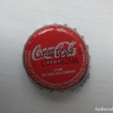 Coleccionismo de Coca-Cola y Pepsi: CHAPA COCA-COLA VALENCIA - FACTORIA U 1996. Lote 85341872