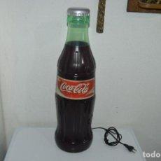 Coleccionismo de Coca-Cola y Pepsi: ESPECTACULAR BOTELLA BOTELLON COCA COLA RADIO CD 60 CM PIEZA DE COLECCIONISTAS FUNCIONANDO. Lote 85384612