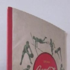 Coleccionismo de Coca-Cola y Pepsi: LIBRETA COCA COLA - AÑOS 40. Lote 87394796