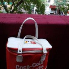 Coleccionismo de Coca-Cola y Pepsi: NEVERA COCA COLA MUNDIAL 82, CON DOS ASAS. Lote 87662072
