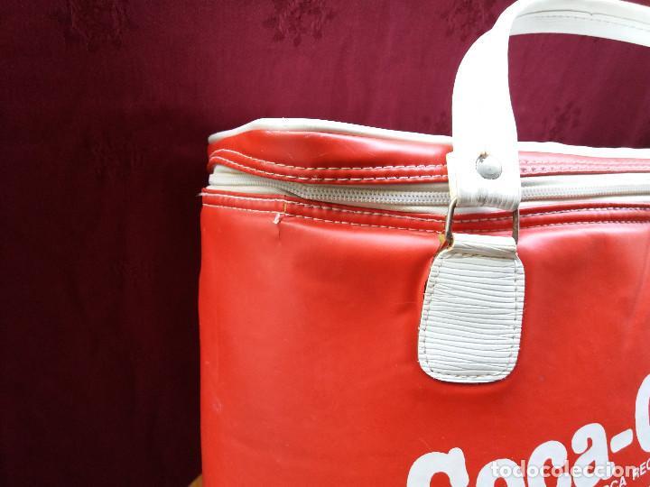 Coleccionismo de Coca-Cola y Pepsi: NEVERA COCA COLA MUNDIAL 82, CON DOS ASAS - Foto 16 - 87662072