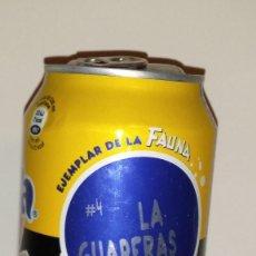 Coleccionismo de Coca-Cola y Pepsi: LATA LLENA DE FANTA ZERO LIMÓN - SERIE ''EJEMPLAR DE LA FAUNA'': LA GUAPERAS Nº 4 - . Lote 98204151