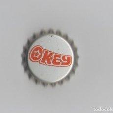 Coleccionismo de Coca-Cola y Pepsi: 1 CHAPA DE OKEY NUEVA CON CORCHO. Lote 90808700
