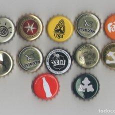 Coleccionismo de Coca-Cola y Pepsi: LOTE DE 12 CHAPAS DE ISRAEL. Lote 90809485