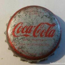Coleccionismo de Coca-Cola y Pepsi: CHAPA COCACOLA AÑOS 70 CORCHO. Lote 90931395