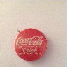 Coleccionismo de Coca-Cola y Pepsi: COCA COLA ANTIGUA CHAPA AÑOS 60-70'. Lote 91446323